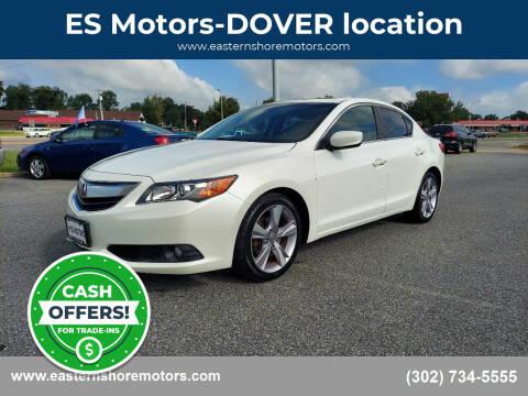 2013 Acura ILX for sale at ES Motors-DAGSBORO location - Dover in Dover DE