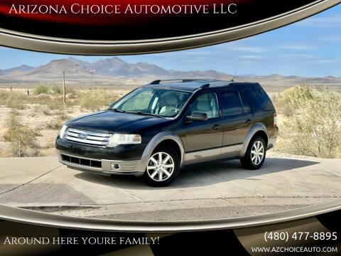 2009 Ford Taurus X for sale at Arizona Choice Automotive LLC in Mesa AZ