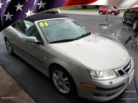 2006 Saab 9-3 for sale at TWIN MOTORS in Madison OH