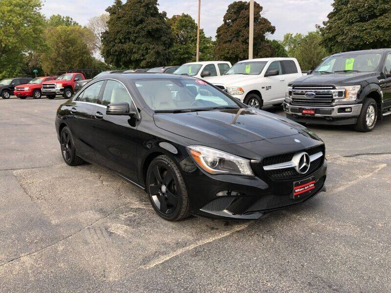 2015 Mercedes-Benz CLA for sale at WILLIAMS AUTO SALES in Green Bay WI