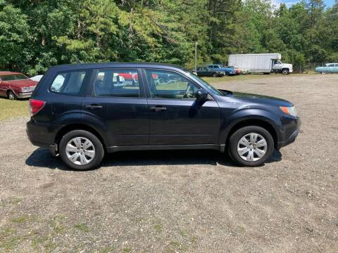 2010 Subaru Forester for sale at MIKE B CARS LTD in Hammonton NJ