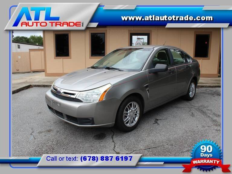 2008 Ford Focus for sale at ATL Auto Trade, Inc. in Stone Mountain GA