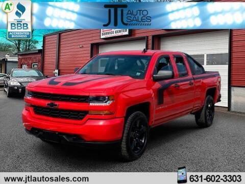 2017 Chevrolet Silverado 1500 for sale at JTL Auto Inc in Selden NY