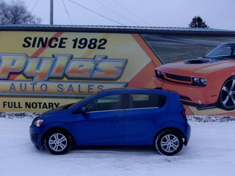 2016 Chevrolet Sonic for sale at Pyles Auto Sales in Kittanning PA