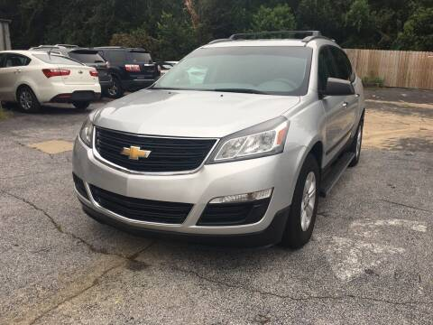 2015 Chevrolet Traverse for sale at Beach Cars in Fort Walton Beach FL