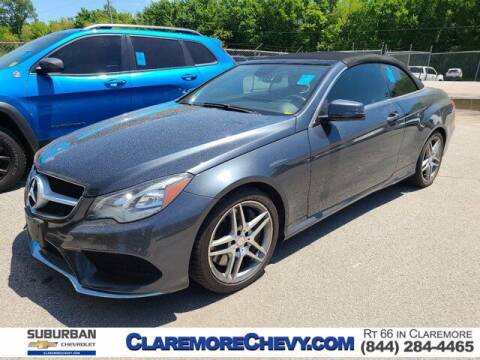 2014 Mercedes-Benz E-Class for sale at Suburban Chevrolet in Claremore OK