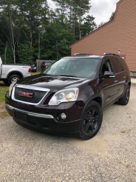 2008 GMC Acadia for sale at Hornes Auto Sales LLC in Epping NH