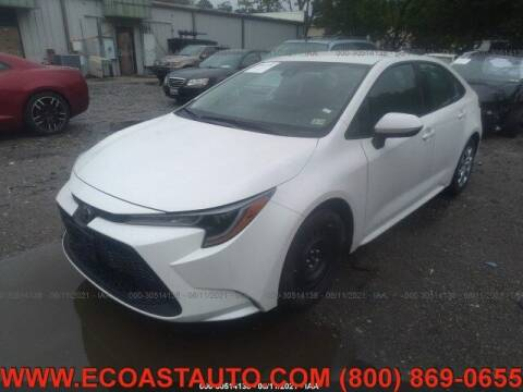 2020 Toyota Corolla for sale at East Coast Auto Source Inc. in Bedford VA