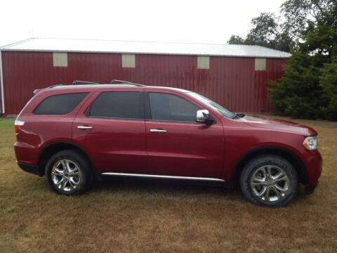 2013 Dodge Durango for sale at Wheels Unlimited in Smith Center KS