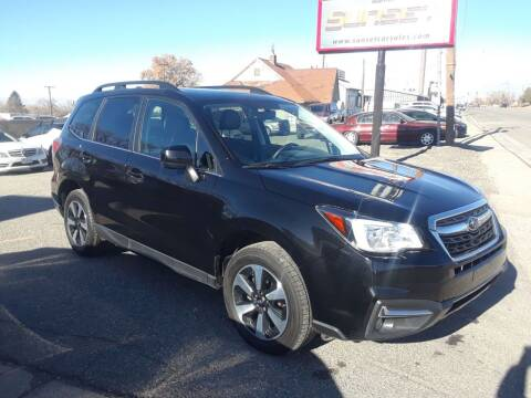 2018 Subaru Forester for sale at Sunset Auto Body in Sunset UT