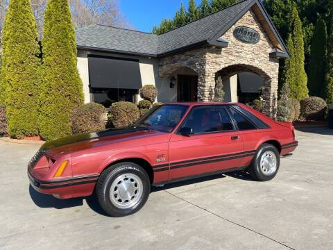 1984 Ford Mustang for sale at Hoyle Auto Sales in Taylorsville NC
