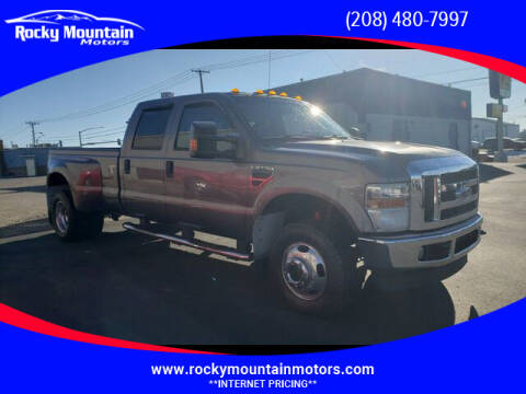 2010 Ford F-350 Super Duty for sale at Rocky Mountain Motors in Idaho Falls ID