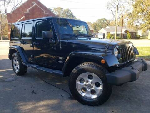2015 Jeep Wrangler Unlimited for sale at McAdenville Motors in Gastonia NC