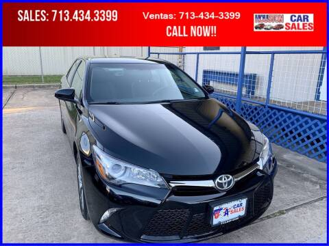 2017 Toyota Camry for sale at HOUSTON CAR SALES INC in Houston TX
