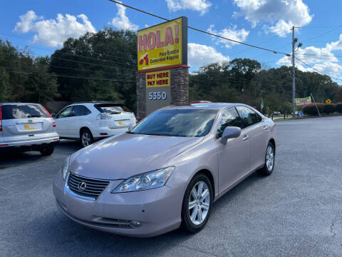 2007 Lexus ES 350 for sale at No Full Coverage Auto Sales in Austell GA