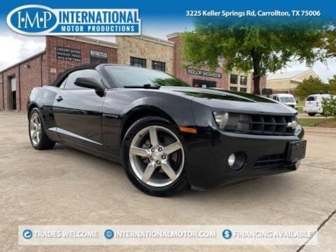 2011 Chevrolet Camaro for sale at International Motor Productions in Carrollton TX