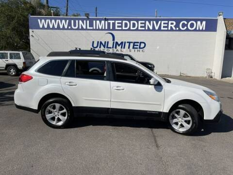 2013 Subaru Outback for sale at Unlimited Auto Sales in Denver CO