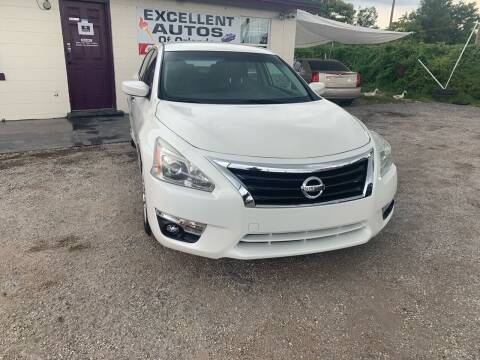 2014 Nissan Altima for sale at Excellent Autos of Orlando in Orlando FL