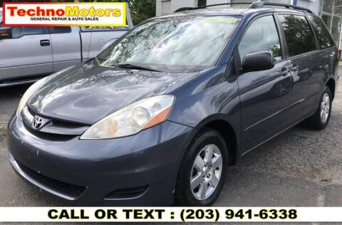 2008 Toyota Sienna for sale at Techno Motors in Danbury CT