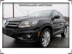 2013 Volkswagen Tiguan for sale at Rockland Automall - Rockland Motors in West Nyack NY