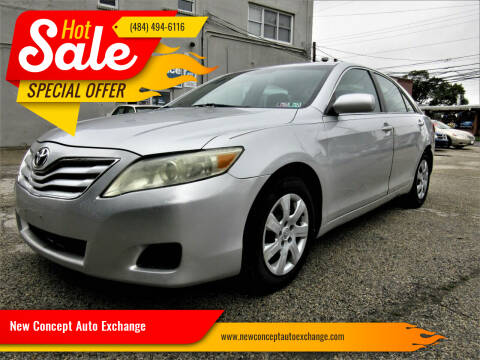 2011 Toyota Camry for sale at New Concept Auto Exchange in Glenolden PA