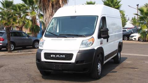 2019 RAM ProMaster Cargo for sale at Okaidi Auto Sales in Sacramento CA