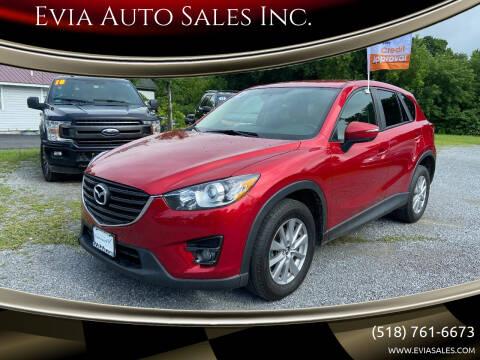 2016 Mazda CX-5 for sale at Evia Auto Sales Inc. in Glens Falls NY