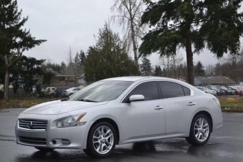 2014 Nissan Maxima for sale at Skyline Motors Auto Sales in Tacoma WA