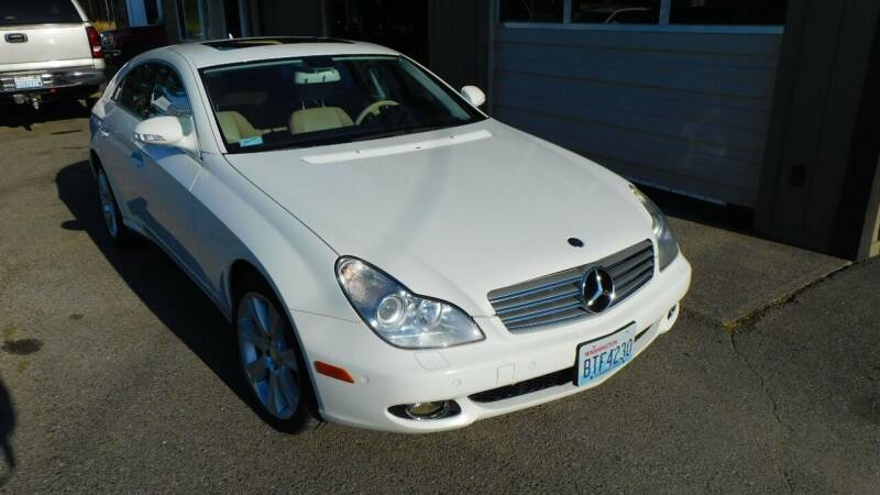 2008 Mercedes-Benz CLS for sale at M & M Auto Sales LLc in Olympia WA