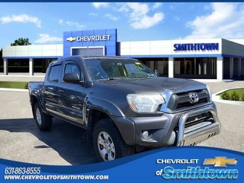 2013 Toyota Tacoma for sale at CHEVROLET OF SMITHTOWN in Saint James NY