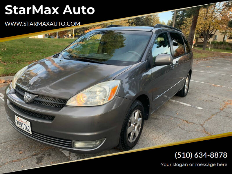2004 Toyota Sienna for sale at StarMax Auto in Fremont CA