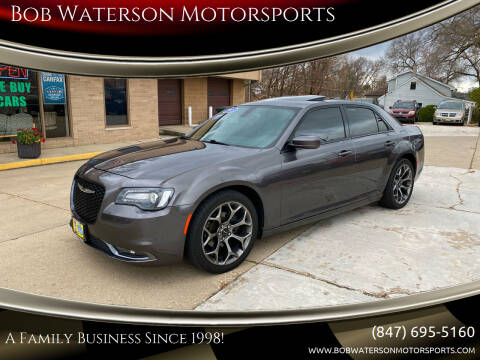 2015 Chrysler 300 for sale at Bob Waterson Motorsports in South Elgin IL