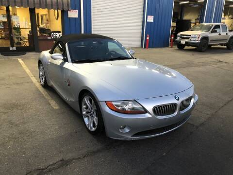 2003 BMW Z4 for sale at Fast Lane Motors in Turlock CA