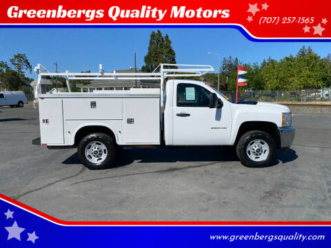 2014 Chevrolet Silverado 2500HD for sale at Greenbergs Quality Motors in Napa CA