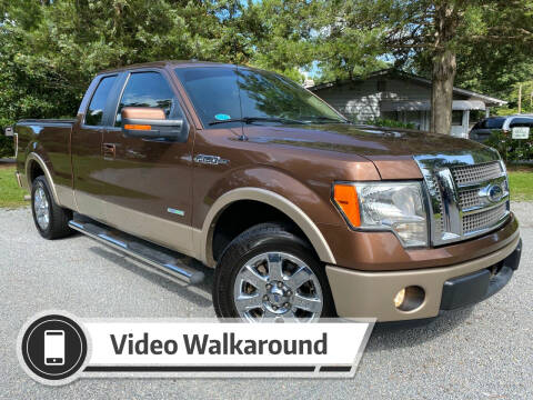 2012 Ford F-150 for sale at Byron Thomas Auto Sales, Inc. in Scotland Neck NC