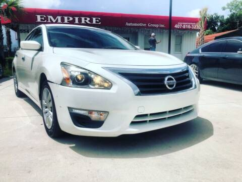 2015 Nissan Altima for sale at Empire Automotive Group Inc. in Orlando FL