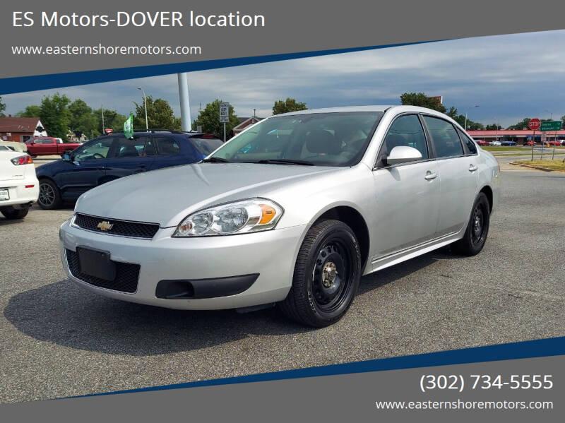 2012 Chevrolet Impala for sale at ES Motors-DAGSBORO location - Dover in Dover DE