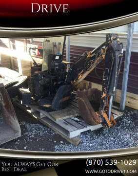 1900 CASE  D 100 BACKHOE ATTACH for sale at Drive in Leachville AR