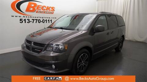 2017 Dodge Grand Caravan for sale at Becks Auto Group in Mason OH