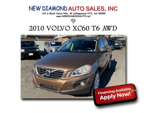 2010 Volvo XC60 for sale at New Diamond Auto Sales, INC in West Collingswood NJ