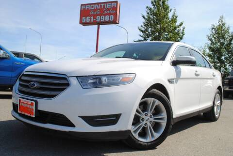 2013 Ford Taurus for sale at Frontier Auto & RV Sales in Anchorage AK