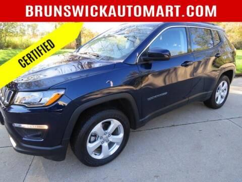 2019 Jeep Compass for sale at Brunswick Auto Mart in Brunswick OH