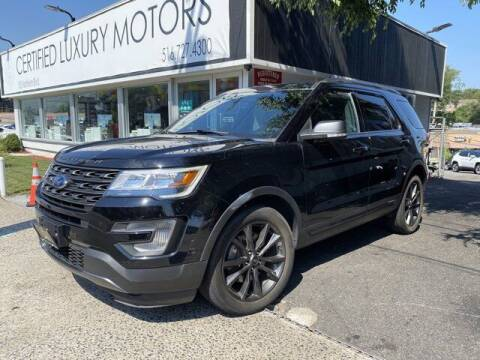2017 Ford Explorer for sale at CERTIFIED LUXURY MOTORS OF QUEENS in Elmhurst NY