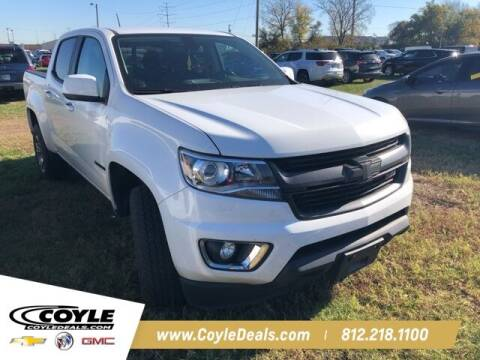 2018 Chevrolet Colorado for sale at COYLE GM - COYLE NISSAN in Clarksville IN