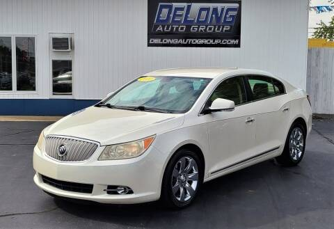2010 Buick LaCrosse for sale at DeLong Auto Group in Tipton IN
