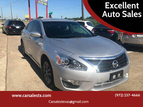 2015 Nissan Altima for sale at Excellent Auto Sales in Grand Prairie TX
