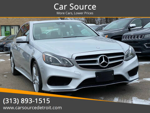 2014 Mercedes-Benz E-Class for sale at Car Source in Detroit MI