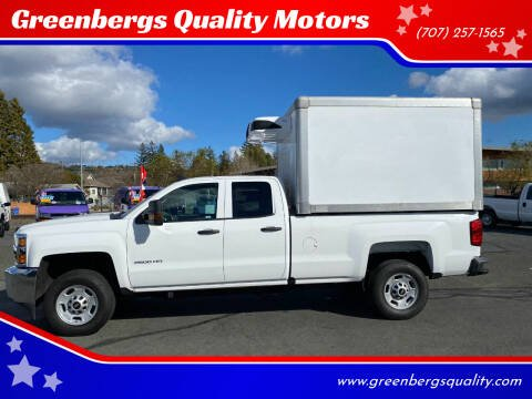 2019 Chevrolet Silverado 2500HD for sale at Greenbergs Quality Motors in Napa CA