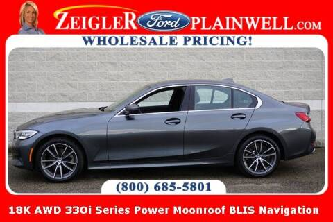 2020 BMW 3 Series for sale at Zeigler Ford of Plainwell- michael davis in Plainwell MI
