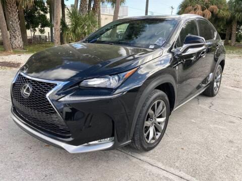 2017 Lexus NX 200t for sale at Florida Fine Cars - West Palm Beach in West Palm Beach FL